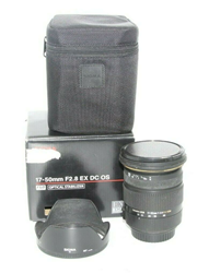 Picture of Sigma EX 17-50mm f/2.8 OS HSM DC Lens For Canon AF