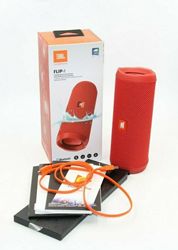 Picture of Mint Condition! JBL Flip 4 Portable Bluetooth Speaker - Red