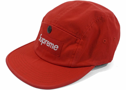 Picture of Supreme Snap Button Pocket Camp Cap Red