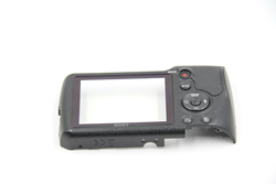 Picture of Original Sony DSC-H300 back cover + LCD window