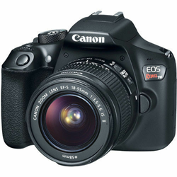 Picture of Canon EOS Rebel T6 DSLR Camera with 18-55mm II Lens 1159C003