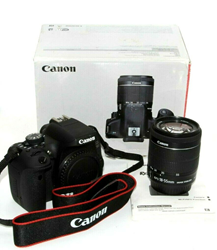 Picture of Used | Canon EOS Rebel T6i / 750D DSLR Camera + 18 - 55mm Lens