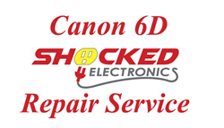 Picture of Canon 6D Repair Service - Impact / Water Damage WE CAN FIX IT !