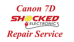 Picture of Canon 7D Repair Service - Impact / Water Damage WE CAN FIX IT !