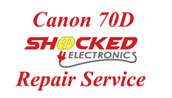 Picture of Canon 70D Repair Service - Impact / Water Damage WE CAN FIX IT !
