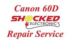 Picture of Canon 60D Repair Service - Impact / Water Damage WE CAN FIX IT !