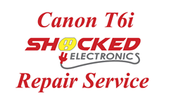 Picture of Canon T6i Repair Service - Impact / Water Damage WE CAN FIX IT !