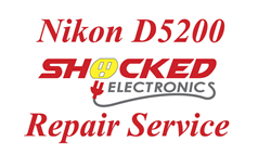 Picture of NIKON D5200 Repair Service - Impact / Water Damage WE CAN FIX IT !