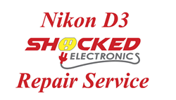 Picture of NIKON D3 Repair Service - Impact / Water Damage WE CAN FIX IT !
