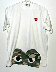Picture of 100% Authentic Men's Play Comme des Garcons T-Shirt - XL