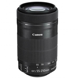 Picture of Used | Canon EF-S 55-250mm F4-5.6 IS STM Lens for Canon SLR Cameras | 1105