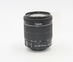 Picture of Broken Canon EF-S 18-55mm f/3.5-5.6 STM IS Lens For Parts Or Repair