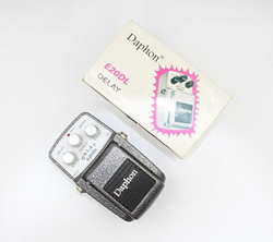 Picture of Daphon E20DL Delay Iron Grey Professional Effect Pedal