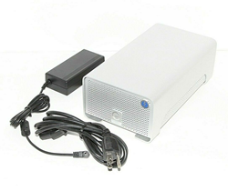 Picture of G-RAID 8TB EXTERNAL DUAL DRIVES BACKUP STORAGE SYSTEM, 2 X THUNDERBOLT PORTS