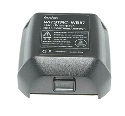 Picture of Godox WB-87 Battery Pack 11.1V 8700mAh for AD600 AD600B AD600BM AD600M Flashes