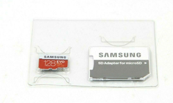 Picture of Genuine Samsung EVO Plus 128GB, Class 10 90MB/s - micro SDXC Card