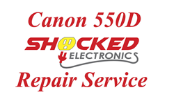 Picture of Canon 550D Repair Service - Impact / Water Damage WE CAN FIX IT !