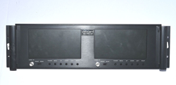 "Picture of NOT TESTED - Delvcam DELV-RCLCD Dual 7"" Rack Mount LCD Monitor"