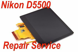 Picture of NIKON D5500 LCD Assembly Repair Service