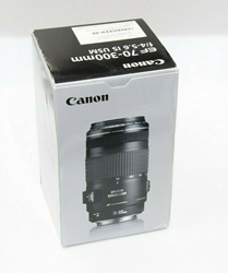Picture of Brand New in Box Canon EF 70-300mm f/4-5.6 IS USM Zoom Lens