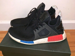 Picture of Adidas NMD XR1 PK BY1909 Black Red White Blue Mens SIZE 10.5
