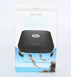 Picture of HP Sprocket Portable Photo Printer On 2x3 sticky-backed X7N08A Social Media