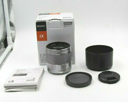 Picture of Used! Sony SEL 50mm f/1.8 FE E-Mount Lens - Silver (SEL50F18F)