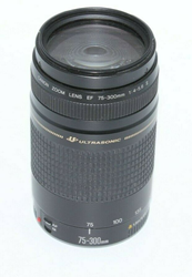 Picture of Broken ! CANON EF-75-300mm 1:4-5.6 II ULTRASONIC ZOOM LENS