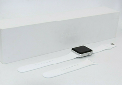 Picture of Broken | Apple Watch Series 2 42mm Aluminum Case White Sport Band