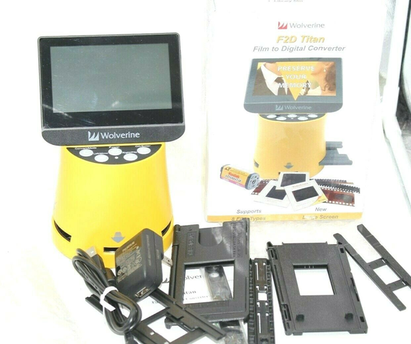 Picture of Wolverine F2D Titan 8-1 Digital Converter Large screen