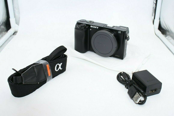 Picture of Sony Alpha a6000 24.3MP Digital Camera - Body Shutter count only 4,173