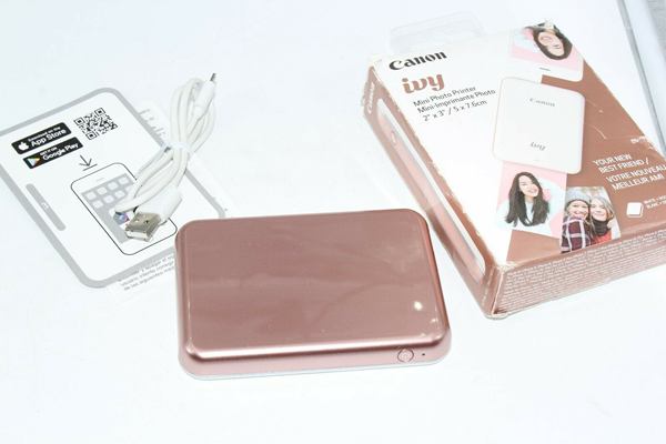 Picture of Canon Ivy Mini Photo Printer 2x3 5x7.6 Rose Gold *FREE SHIPPING*
