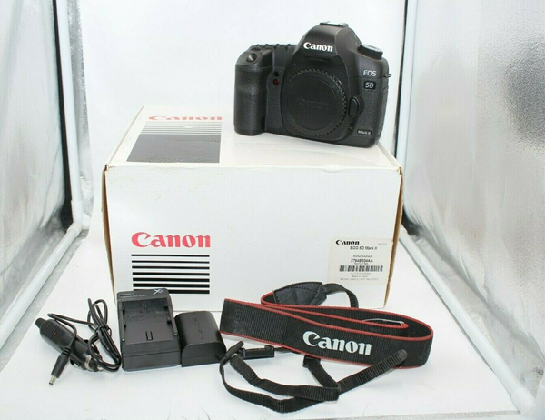 Picture of Used! Canon EOS 5D Mark II 21.1MP Digital SLR Camera Body ** Shutter 43,764**