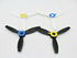 Picture of Parrot Bebop 2 Propellers Set (2 White - 2 Black), Picture 1