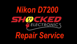 Picture of NIKON D7200 Repair Service - Impact / Water Damage WE CAN FIX IT !