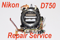 "Picture of NIKON D750 Mirror Box Front Body Repair Service ""Err Message"""
