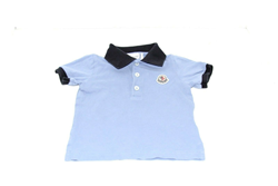 Picture of Used | Boys Moncler Tshirt 9-12 Months - Blue