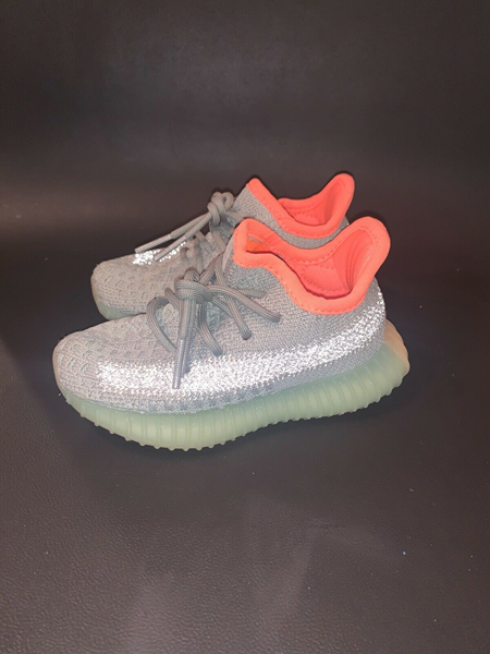 Picture of Adidas Yeezy 350 Boost V2 Kids Desert Sage Size 6K