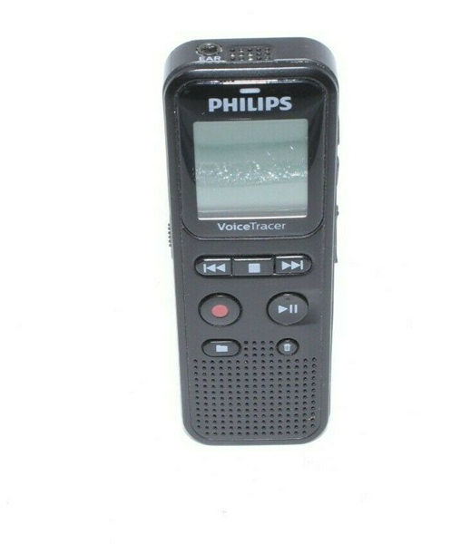 Picture of Broken Philips Voice Tracer Audio Recorder DVT1150 - Black