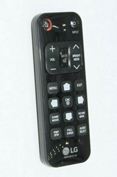 Picture of LG TV Remote Control replacement #AKB72913118 (Black)