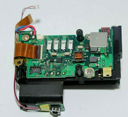 Picture of Nikon D5300 Power Supply PCB Board with Battery Box Replacement Part