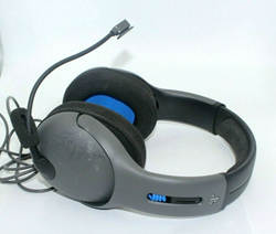 Picture of Broken PDP LVL50 Wired Stereo Gaming Headset for PlayStation 4 - Gray/Black