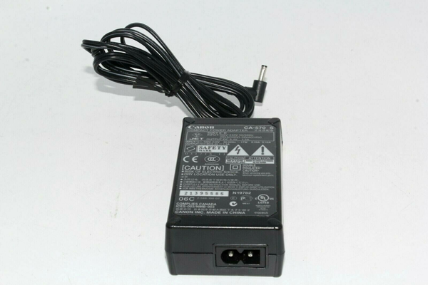Picture of Used Canon Compact Power AC Adapter Charger CA-570 S