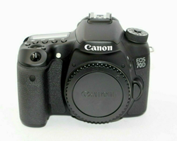 Picture of Canon EOS 70D 20.2MP Digital SLR Camera - Black (Body Only)