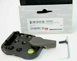Picture of Manfrotto 322RA Additional Adaptor for 322RC2