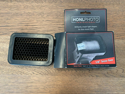 "Picture of Honlphoto 1/8"" Honeycomb Speed Grid for Shoe Mount Portable Flashes"