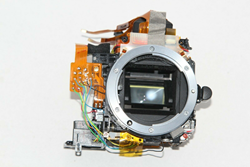 Picture of ORIGINAL Nikon D80 Mirror Box PART REPLACEMENT Focusing Screen + Viewfinder
