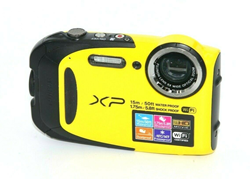 Picture of Broken Fujifilm FinePix XP Series XP80 16.4MP Digital Camera (Yellow) #1103
