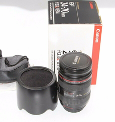 Picture of Canon EF 24-70mm f/2.8L USM Telephoto Lens (8014A002)