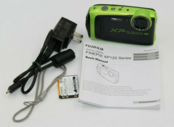 Picture of Fujifilm FinePix XP125 16.4MP Digital Camera (Lime) - For Parts or Repair #5833